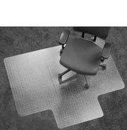 Bürostuhl-Bodenschutzmatte für Teppichboden mit Aussparung