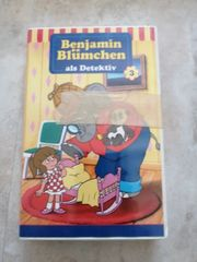 Viedeokasette Benjamin Blümchen