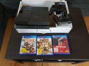 Playstation 4 vier Spiele Orginalverpackung
