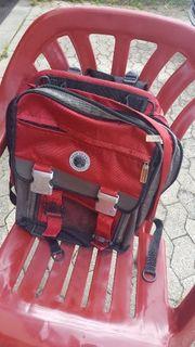 Schulranzen Rucksack rot schwarz Take