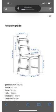 4 Stühle Ivar von Ikea
