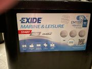 AGM Batterie EXIDE Marine Leisure