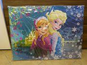 Die Eiskönigin - Anna und Elsa-Wandbild