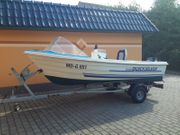 Angelboot Motorboot Quicksilver 440 mit