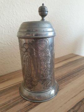 Barock Bierkrug von 1793 - Original: Kleinanzeigen aus Vaterstetten - Rubrik Sonstige Antiquitäten