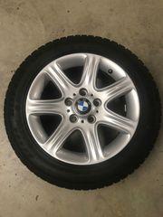 BMW 1er Winterreifen auf Alufelgen