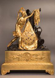 Antike Empire Pendule Kaminuhr Mantel