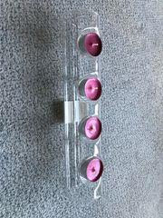 Teelichthalter für 4Teelichter Glas Kerzenhalter