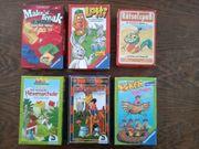 Brettspiele Gesellschaftsspiele Sammlung 6 Stück