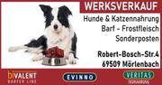 40 reduziert Werksverkauf Hunde Katzenfutter