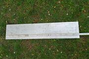 Aluminium Platte Flach