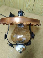 Deckenlampe aus Kupfer Porzelan