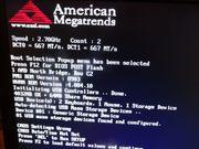PC mit Bildschirm