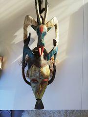 Wohndeko original afrikanische Maske aus