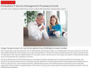Consultant IT Service Management Prozesse