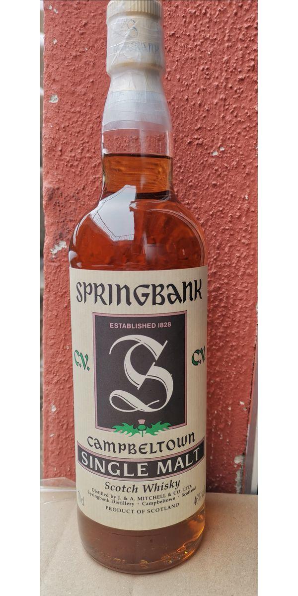 Whisky Springbank alte abfüllung