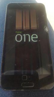 HTC one M8 mit Displayschaden