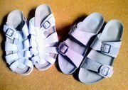 Schuhe Schlappen Hausschuhe NEU Gr