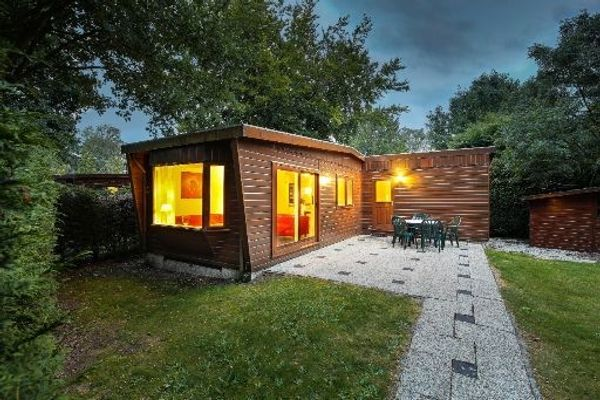 Freistehendes Ferienhaus gelegen im Wald