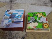 Holz Puzzlewürfel 6 Motive