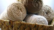 Recycling Baumwollgarn zum häkeln stricken