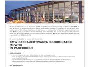 BMW Gebrauchtwagen Koordinator m w