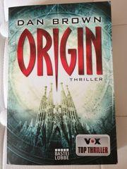 ORIGIN Thriller von Dan Brown