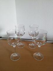 Weißwein Gläser