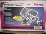 Neue Freisprecheinrichtung ProfiPro Hama