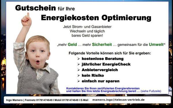Energiekosten senken Wir beraten Sie