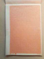 Millimeterpapier A4 Bücherpapier oder transparent