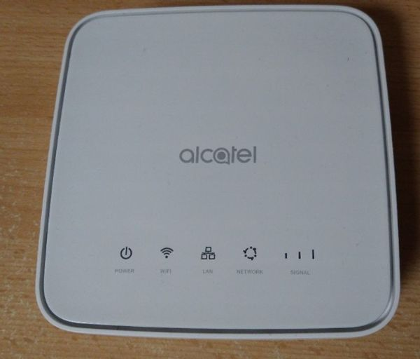 alcatel lte router