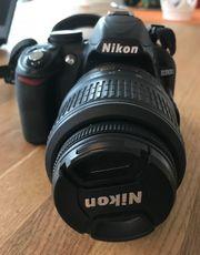 Verkaufe NIKON D3100 Spiegelreflex-Kamera gebraucht