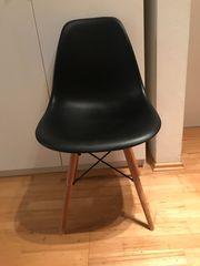 Stuhl skandinavisches Design schwarz von