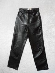Lackhose Damenhose sexy schwarz Gr