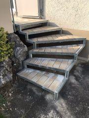 Treppe Abbau und Abholung in