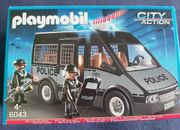 Polizei Mannschaftswagen von Playmobil zu