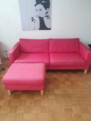Couch inkl Hocker zu Verschenken