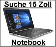 Suche 15 - 17 ZOLL Laptop