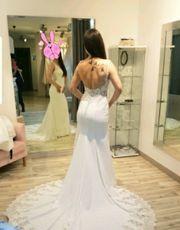 Hochzeitskleid nur einmal verwendet