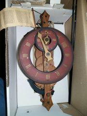 Welt Uhr aus Holz Original