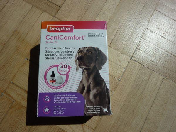 Neu&OVP CaniComfort Hunde Beruhigung Starter Kit, 48 ml&Verdampfer