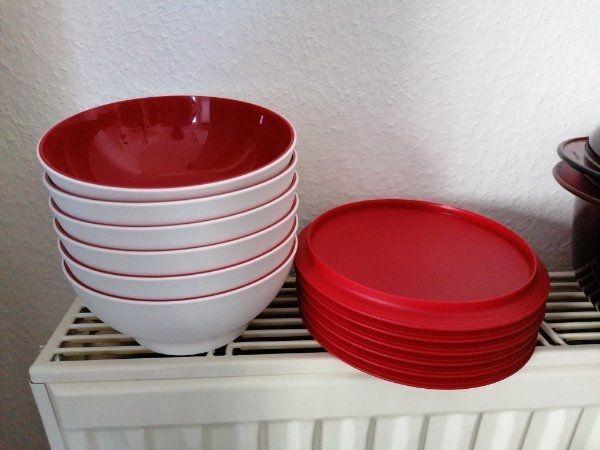 Allegra 275 ml / Tupperware / rot / Dose