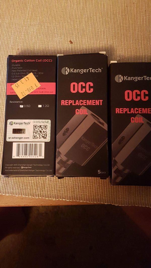 Kanger Tech Replacement coils 0
