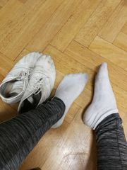 Getragene Socken- großer Ausverkauf