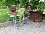 Garten - Deko - Nähmaschinengestell