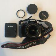 Canon 450D digitale Spiegelreflexkamera Zubehör