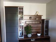 Moderne variable Wohnwand mit Platz