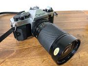 Canon AE-1 Kamera Body Zoom-Objektiv