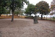 Verpachte Reit- Sandplatz mit Offenstall